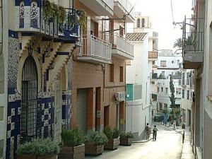 Calle Sant Pol de Mar