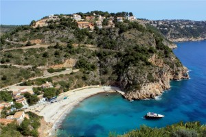 fotos-playa-Granadella-javea-20-barco-arena-agua-cristalina